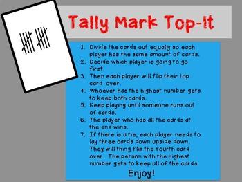 Tally Mark Top-It
