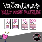 Tally Mark Valentine's Day Puzzles