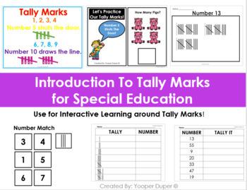 Tally Mark Worksheets