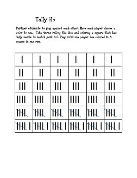 Tally Mark introduction