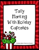 Tally Marking With Holiday Cupcakes Packet