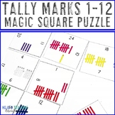 Tally Marks Math Center Game | Tally Marks Activities | Ta