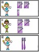 Tally Marks 1-20 Tooth Fairy Theme With And Without QR Codes