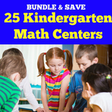 Kindergarten Math Centers | Games