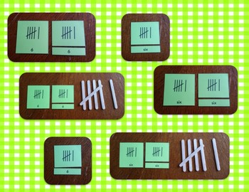 Tally Marks: 3-Part Self-correcting Cards {Differentiated}