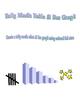 Tally Mark Chart & Bar Graph: Stars