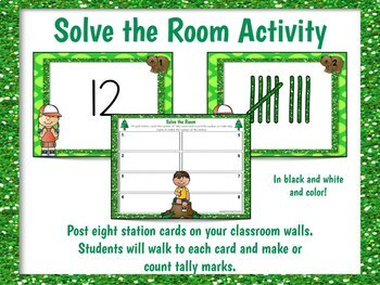 Tally Marks Worksheets and Activities