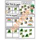 """St. Patrick's Day Tally Mark Chart Activities: """"Tally Mc Nalley's Pot O' Gold"""""""