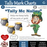 "St. Patrick's Day Tally Mark Chart Activities: ""Tally Mc N"