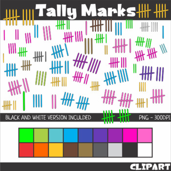 Tally Marks Clip Art