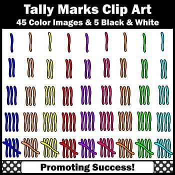 tally marks clip art elementary math clipart for