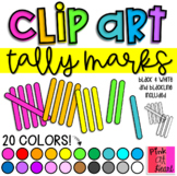 Tally Marks Clip Art / Set of 110 Images