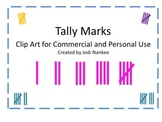 Tally Marks Clip Art for Commercial and Private Use