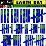Tally Marks Clipart {Earth Day}