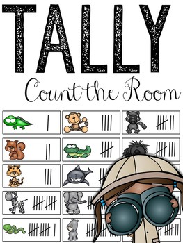 Tally Marks: Count The Room (Numbers 1-20)