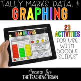 Tally Marks, Data, and Graphing Activities for Google and