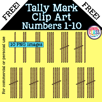 Tally Mark Clip Art Images (FREE)