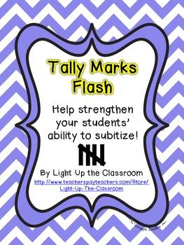 Tally Marks Flash Subitizing Practice