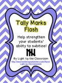 Tally Marks Flash Subitizing Practice