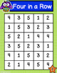 Tally Marks Four-In-A-Row Game (Math Center)