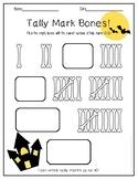 Tally Marks - Halloween