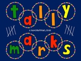 Tally Marks - I Have, Who  Has? - Memory / Matching