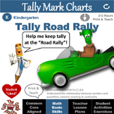 """Tally Marks Introductory Activities & Worksheets: """"Tally R"""