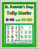Tally Marks Activities - St. Patrick's Day Math