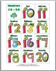 Tally Marks Matching Games -St. Patrick's Day Theme Number