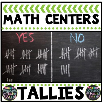 Tally Marks Math Center Station