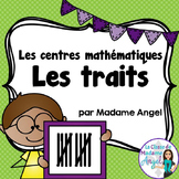 Tally Marks Math Centers in French