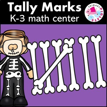 Halloween Tally Marks Math Center