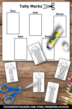 Tally Marks Worksheets 1st Grade Math Review