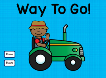 Tally Marks Numbers 1 - 20 Kindergarten Farm Theme for Google Drive™
