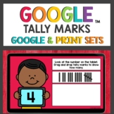 Tally Marks Practice Cards