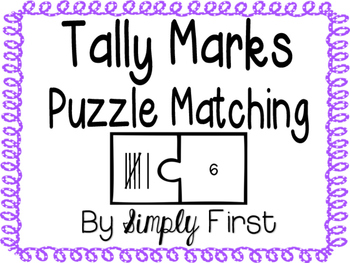 Tally Marks: Puzzle Matching