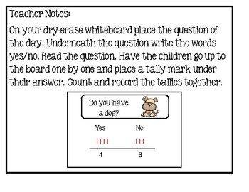 Tally Marks - Question Of The Day