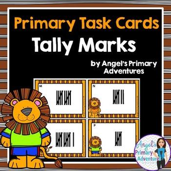 Tally Marks Task Cards