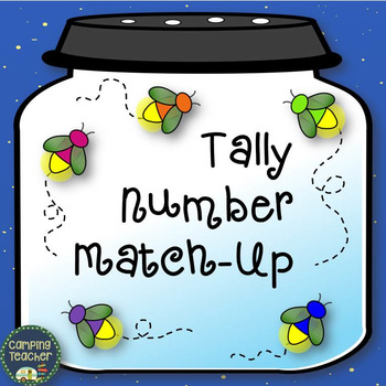 Tally Number Match Up Task Cards