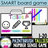 Tally Paint Fun - 1-20 Tallies Practice SMART board and Pr