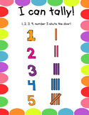 Tally Posters with Songs