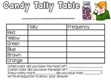 Tally Table Candy Graph