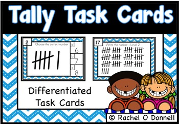 Tally Task Cards Differentiated