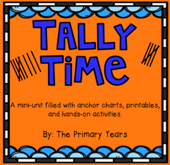 Tally Time! {All About Tally Marks}