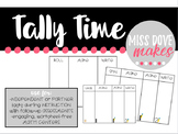 Tally Time: Engaging, Hands-On Tally Practice Tasks