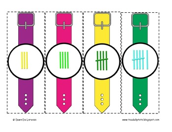 Tally Time! {Interactive Number and Tally Watches}