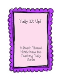 Tally Up! Beach Themed Tally Game