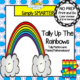 NO PREP Rainbow Themed Tally Marks Game