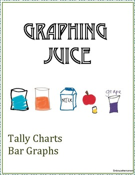 Tally and Bar Graph with Favorite Juices