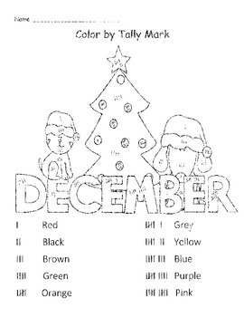 Tally and Color December